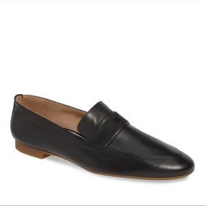 Paul Green Black Adele Soft Leather Loafers